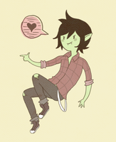 marshall lee lala by Pajuxi