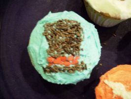 Professor Layton Cupcake by KingdomZelaybli