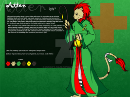 Atten Ref Sheet by Doggy-san