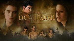 Twilight New Moon Wallpaper by MzFrkD