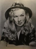Veronica Lake by MrEyeCandy66