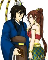 Thai-n-Chinese_couple by Foxtails9