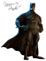 Batman Render by YuriLongaray