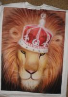 airbrushed LION by NeoGzus