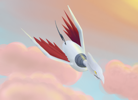 Pokeddex day 3: Skarmory by Dream--scape