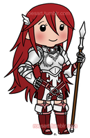 Chibi Cordelia by roseannepage