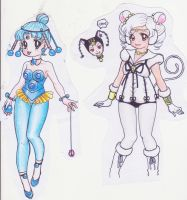 Sailor Iron Mouse y Para Para by Aino-Fred