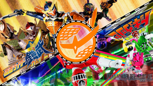 ToQger x Gaim Wallpaper by UnknownChaser