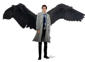 C is for Castiel by CrissyPeters