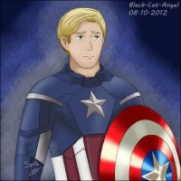 Captain America by Black-Cat-Angel