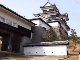 Shirakawa Castle by moldypotatoes