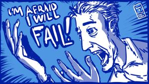 I'm Afraid I Will Fail! by LineDetail