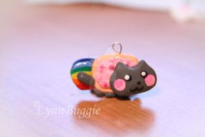 Nyan Cat Charm by LynnBuggie