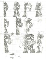 Transformer Turnaround Sketch by Partin-Arts