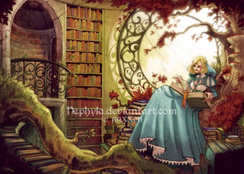 +RAXXON+The Library by Nephyla