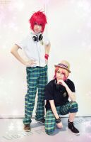 Ittoki Otoya and Syo Kurusu by Sora-Phantomhive