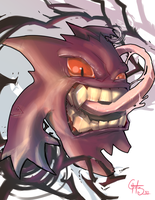 Gengar by theSadSon