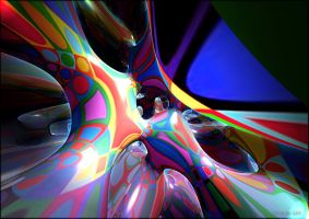 ENERGY ABSTRACT N 20 by DorianoArt