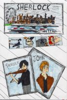 Sherlock BBC-it has everything! by cjbrownie