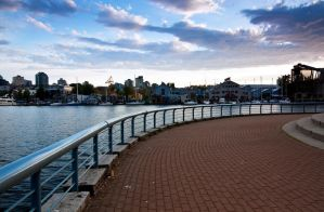 False Creek at Dusk by esoup13