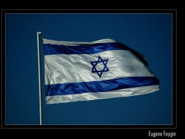 Israeli Flag by eugenef