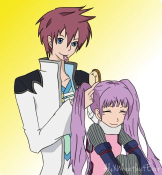 Asbel and Sophie - Bonding Time by AlyXWheatley4Ever