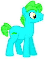 Introducing the Glowstick Empire Ponies: Gloworm by jaybugjimmies
