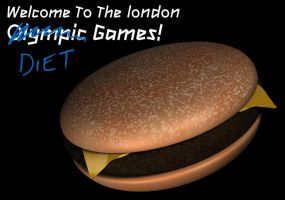 Olympic Diet Games by YesOwl