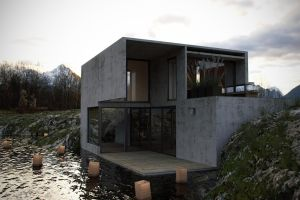 HouseinStone by brown-eye-architects