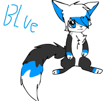 Blue by xCheshire-Rabbitx