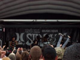 Escape the Fate at Warped Tour by beckyCHOKE