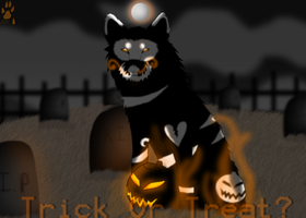 Trick Or Treat? by BrokenWingProdutions
