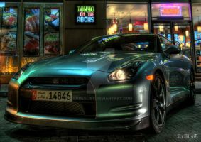 GT-R in HDR by NoReAlisT