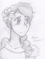 Katniss Everdeen The girl on fire by anto99