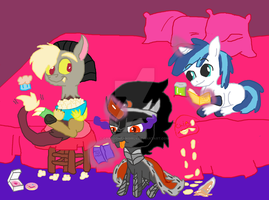NO FILLIES ALLOWED!!! ROYAL SLEEPOVER!!! by Cartoonfangirl4