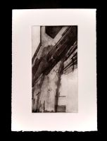 abstract etching by rizn