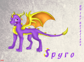 Spyro for Ketaziana by Fire-Flame-Fan