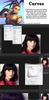 Quick Curves trick in Photoshop by Psichodelic