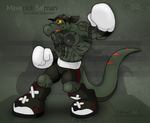 Heavyweight Boxing Reptile by OutLeaf