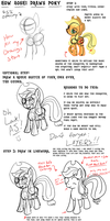 How Aoshi Stark draws Pony - ATG week 29 by aoshistark