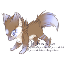 kittenAX: Bluefox by Konokiri