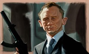 Bond, James Bond by bangalore-monkey