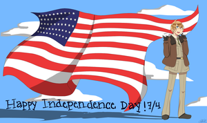 [APH] Happy Independence Day America! by THE-L0LLIP0P