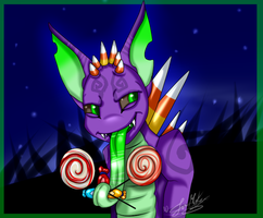 PC: One Does Not Simply Have Too Much Candy~ by ScottishRedWolf