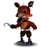 Nightmare Foxy Accurate!! by YinyangGio1987