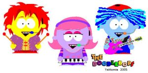 The Doodlebops in South Park by Yakkomia