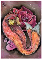 Foxes Love by Vampira86
