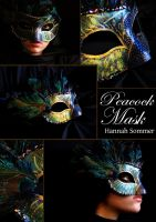 Peacock Mask by EchoLanding
