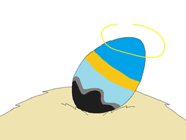Sparky as an Egg by nissandriver217