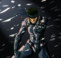 SOLID SNAKE by Augusto-Rubio